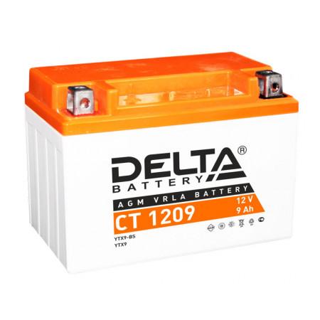 Аккумулятор Delta CT 1209 12В/9Ач