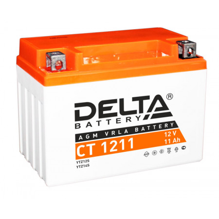Аккумулятор Delta CT 1211 12В/11Ач