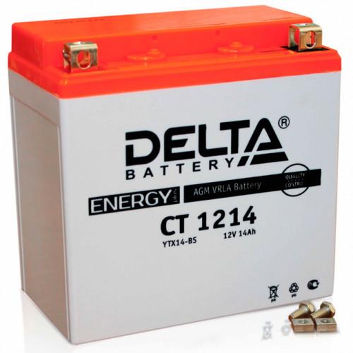 Аккумулятор Delta CT 1214 12В/14Ач