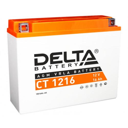Аккумулятор Delta CT 1216 12В/16Ач