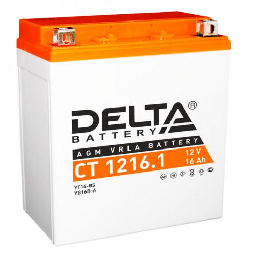 Аккумулятор Delta CT 1216.1 12В/16Ач