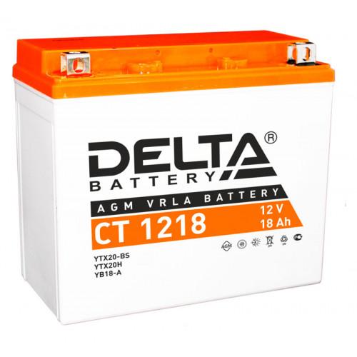 Аккумулятор Delta CT 1218 12В/20Ач
