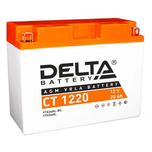 Аккумулятор Delta CT 1220 12В/20Ач