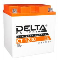 Аккумулятор Delta CT 1230 12В/30Ач