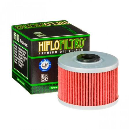 Фильтр масляный HifloFiltro HF 112 для Adly, Dinli, Honda, Kawasaki, Polaris
