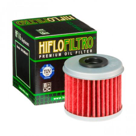 Фильтр масляный HifloFiltro HF 116 для Honda, Polaris