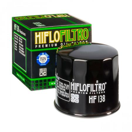 Фильтр масляный HifloFiltro HF 138 для Arctic Cat, Kymco