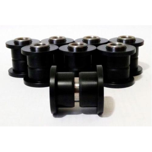 Комплект капролоновых втулок для амортизаторов с пальцами Stels HiSun