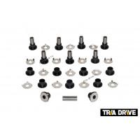Комплект втулок рычагов передней подвески BRP G1, G2 + проставочные шайбы