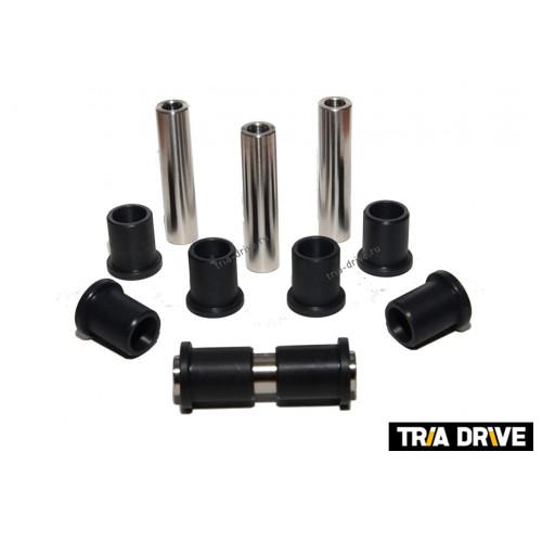 Комплект усиленных капролоновых втулок для заднего кулака с пальцами CF Moto 500/X5/X6/X8
