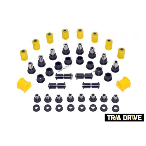 Полный комплект усиленных капролоновых втулок подвески CF Moto X5/X6/X8
