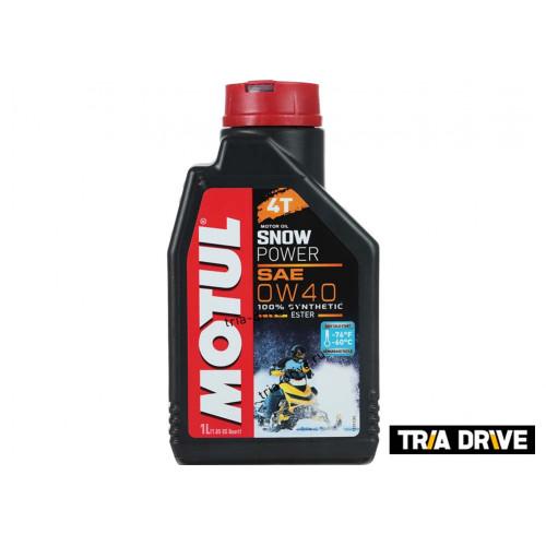 Синтетическое моторное масло MOTUL Snowpower 4T 0W-40