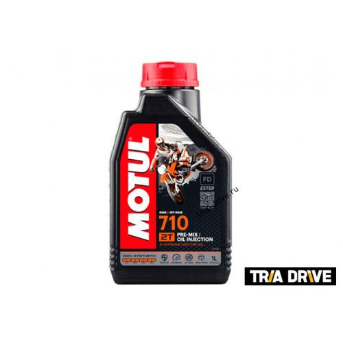 Моторное масло для высокотехнологичных 2-х тактных двигателей 710 2T