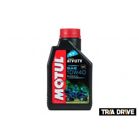 Минеральное моторное масло MOTUL ATV-UTV 4T 10W-40