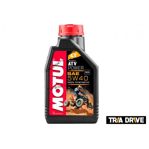 Синтетическое моторное масло MOTUL ATV Power 4T 5W-40