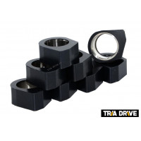 Комплект полигональных роликов вариатора для Baltmotors JAMBO 700 (15-18гр)