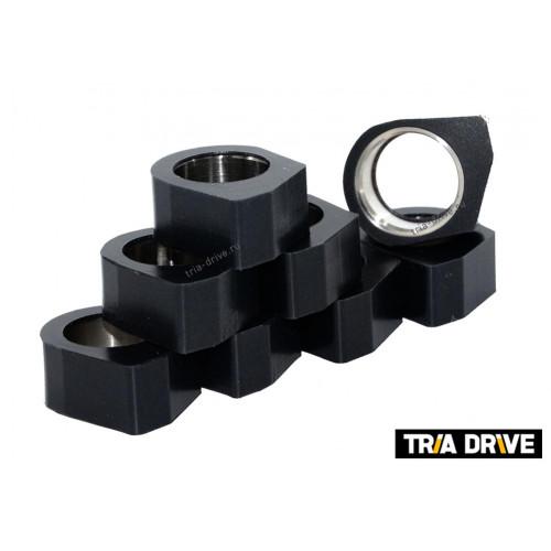 Комплект полигональных роликов вариатора для Yamaha Grizzly/Rhino (вес 15-22гр)